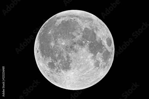 Fotomural Full moon closeup