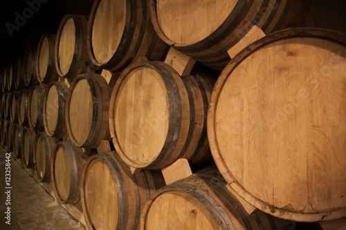 Armenia, cognac barrels