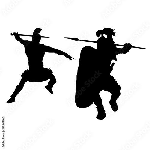Fotografie, Obraz  peleando