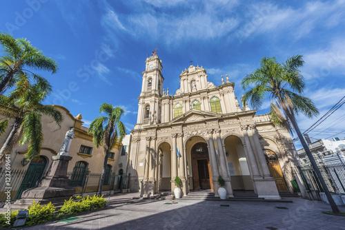 Fotografía  Cathedral in San Salvador de Jujuy, Argentina.