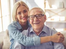 Grandpa And Grandchild