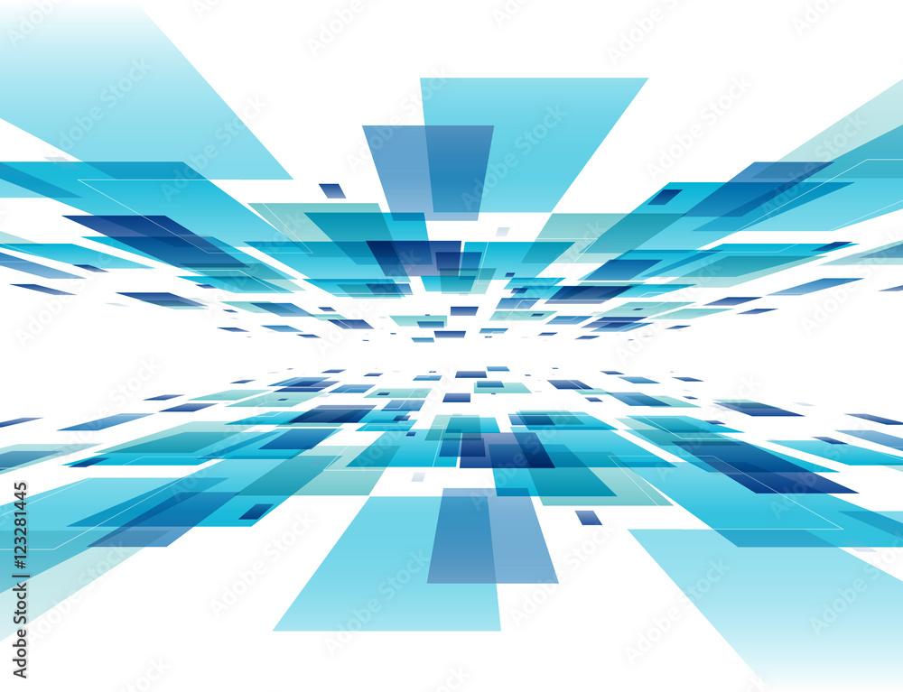 Fototapeta 背景 デジタル(カラフル)
