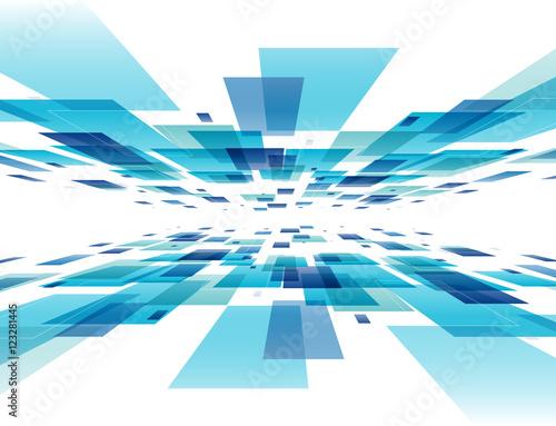 Fototapeta 背景 デジタル(カラフル) obraz