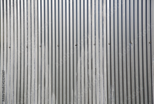 Foto  Corrugated metal background and texture