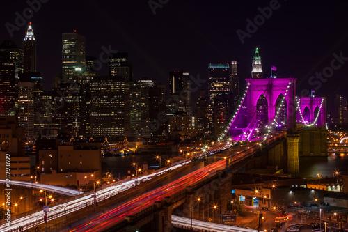 Brooklyn Bridge Nightscape