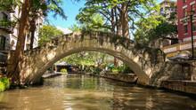 Bridge At San Antonio River Walk