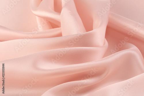 Fotografie, Obraz  pink chiffon folds