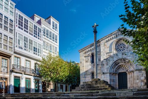 Staande foto Las Vegas Santa Maria del campo in A Coruna, Galicia, Spain