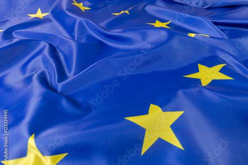 Poster Northern Europe European Union EU Flag