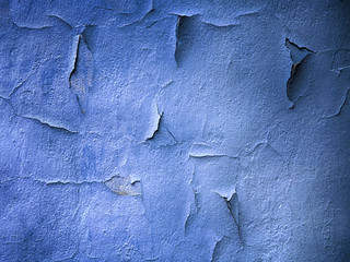 concrete blue darken wall t...