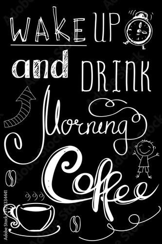 obudz-sie-i-wypij-poranna-kawe-recznie-rysowane-napis