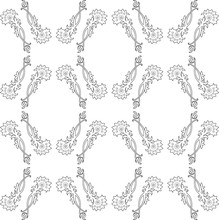 Vector Seamless Decorative Pattern. Elements For Design.