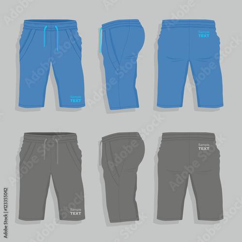 Fotografía  Men sport shorts