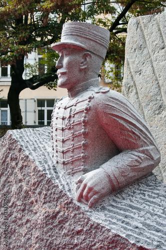 Photo Statue de Dreyfus à Mulhouse