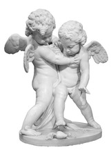 Beautiful Marble Statue Of Two Angels