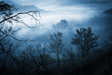 Mysterious Misty Morning Over ...