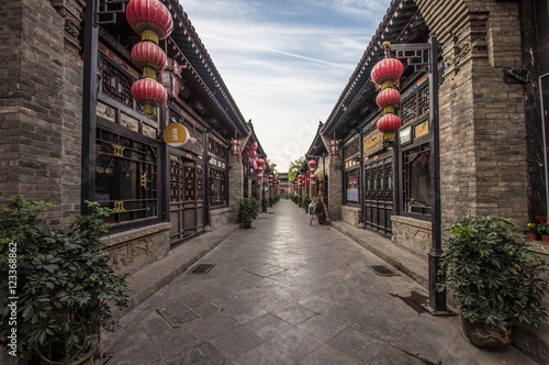 Tuinposter China Pingyao, China