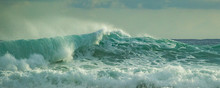 Rough Seas In The Caribbean