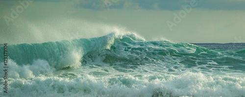 Fotografie, Obraz  rough seas in the caribbean