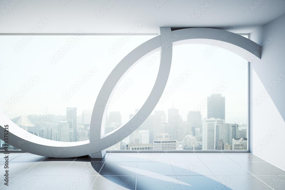 Fototapeta Abstract modern interior