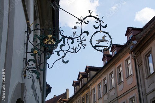 Photo  Unicorn sign in  Bamberg