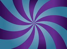 Purple And Blue Vortex