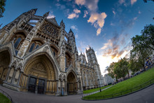 Wide Angle View Of Westminster...