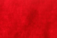 Red Felt Texture Background