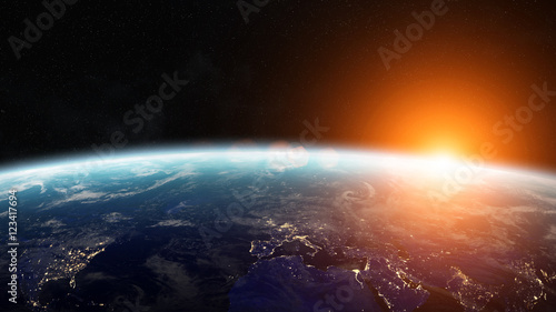 sunrise-over-planet-earth-in-space-3d-rendering-elements-of-this