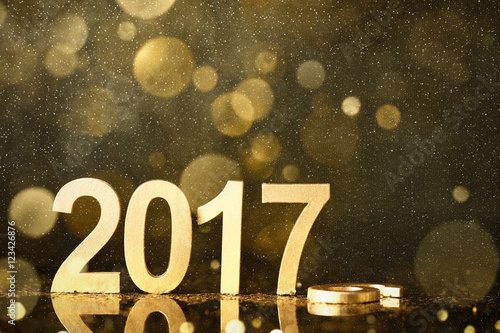 Fotografía  New year decoration