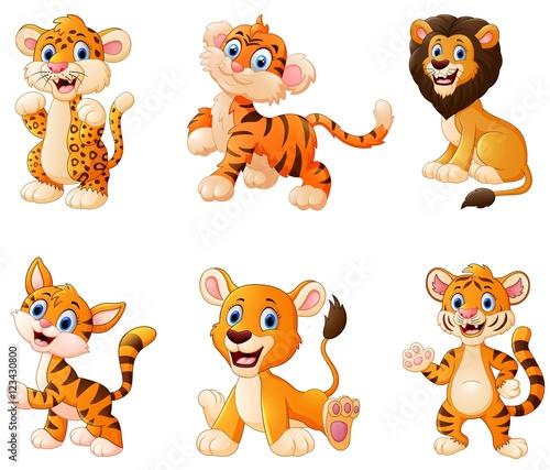 Wild animal cartoon #123430800