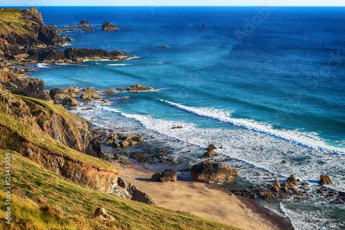 Photo  Cornwall coast