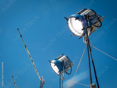 Valokuva  HMI daylight projector hanging