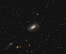 Distant Galaxies In Coma Berenices Constellation