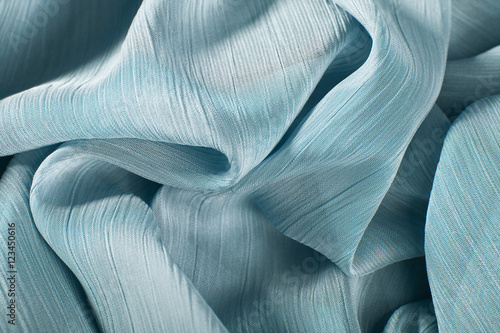 Obraz na plátně  chiffon fabric background texture.