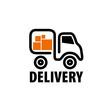 vector logo trucking
