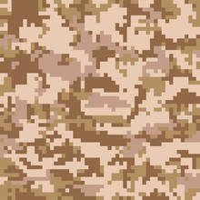 Seamless Digital Desert Camouf...