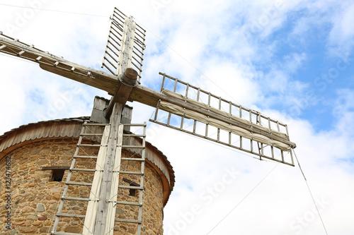 Poster Molens molino de viento ocón país vasco U84A0738-f16