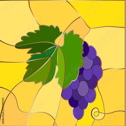 kisc-winogron-witrazu