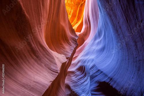 Poster Antilope Antelope Canyon in Arizona, USA.