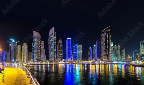 Fototapety, obrazy: Panorama of Dubai marina