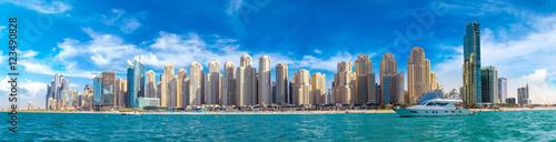 Poster Moyen-Orient Panorama of Dubai Marina