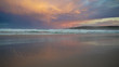 Sunset on a Pambula Beach in New South Wales - Australia