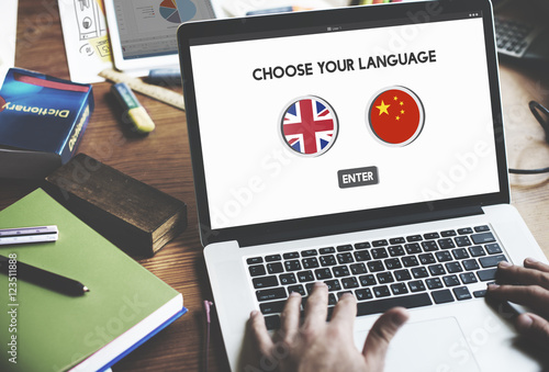 Language Dictionary English Chinese Concept - Buy this stock