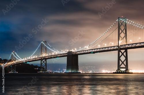 Canvas Prints San Francisco San Francisco oakland Bay Bridge