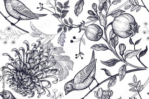 bezszwowy-wzor-z-chrysantemums-granatami