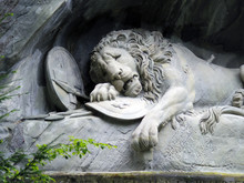 The Lion Monument Of Lucerne, ...
