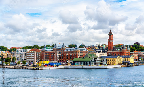View of Helsingborg city centre - Sweden