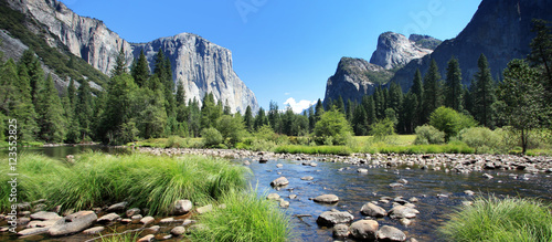 In de dag Pistache California (USA) - Yosemite National Park