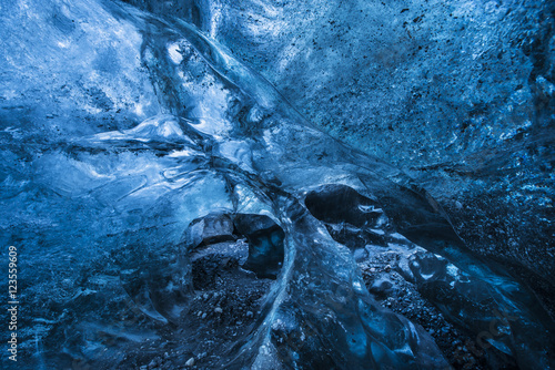 Interior of ice cave